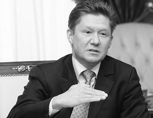 Глава Газпрома обвинил премьер-министра Украины Арсения Яценюка в срыве трехсторонних консультаций