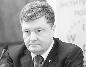 Петр Порошенко готов поставить под удар собственную промышленность, чтобы навредить Москве