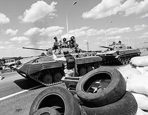 Ополченцы Стрелкова вошли в Донецк