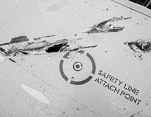 По поврежденным останкам Boeing 777 эксперт делает вывод, что по самолету стреляли авиационными ракетами