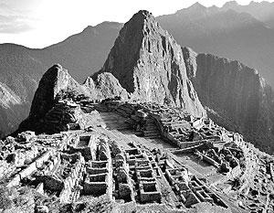 Археологический комплекс перуанского города инков Мачу-Пикчу