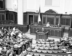 Верховная рада проработала всего два года из тех пяти, на которые была избрана