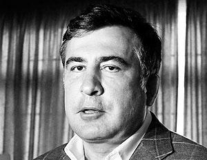 Саакашвили в тот момент, когда за него вступилась Псаки, находился в США
