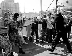 Попытка уже новых, «постреволюционных», властей освободить Майдан тоже закончилась фиаско