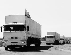 Помощь, которая так нужна жителям Донбасса, все еще не пересекла границу