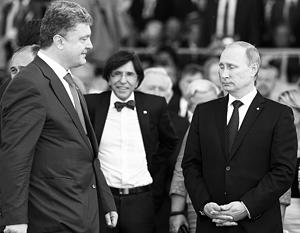 По мнению наблюдателей, вопросы войны и мира на Украине решатся не в диалоге Путин –  Порошенко, а в диалоге Путин – Обама