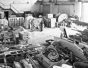 Производственные цеха решено оборудовать в бывших складских помещениях
