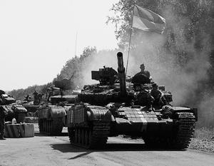 Нацгвардии и «батальонам» пообещали дать танки