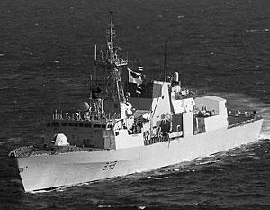 Toronto вошел в Черное море 6 сентября