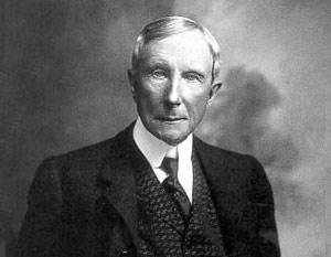 Первое место в рейтинге занял нефтяной магнат Джон Д. Рокфеллер (1839-1937)