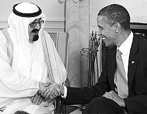 Саудовскую Аравию и Соединенные Штаты объединяют очень тесные интересы в нефтяном бизнесе