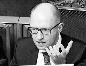 Арсений Яценюк мечтает довести число «очищенных» чиновников до миллиона