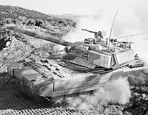 Одно из предположительных изображений перспективного российского танка «Армата»