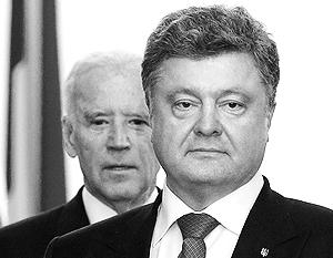 Наиболее приемлемым для Киева и Вашингтона Порошенко назвал минский формат