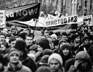 В протестах болгарской общественности против добычи сланцевого газа усмотрели «российское влияние»