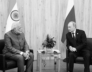Результатом предыдущих встреч Владимира Путина и нового премьера Индии Нарендры Моди стала заметная активизация сотрудничества Москвы и Дели