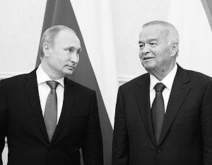 Владимир Путин встретился в Ташкенте с Исламом Каримовым