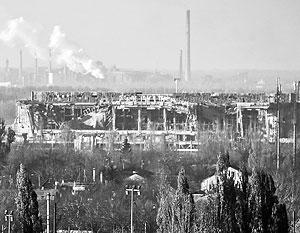 Донецкий аэропорт разрушен, его сотрудники просятся в Россию