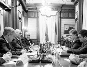 Лукашенко и Порошенко встретились в Киеве в преддверии саммита ОДКБ