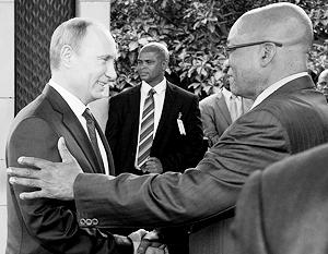 С ЮАР, самой развитой страной «черной» Африки, Россия плотно взаимодействует в формате БРИКС