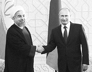 Переговоры о визите Путина в Иран ведутся уже около года