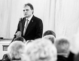 От встреч с президентом ПМР Шевчуком в Москве пытаются уклониться