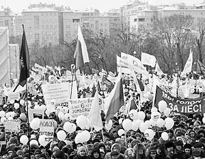 Антикризисный марш станет лишь поводом для того, чтобы обвинить во всех бедах Путина