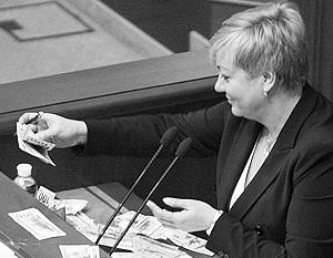 Глава Нацбанка Украины Валерия Гонтарева своими действиями делает только хуже украинской экономике