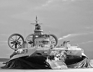 Корабль проекта 12322 «Зубр» является самым большим в мире десантным кораблем на воздушной подушке
