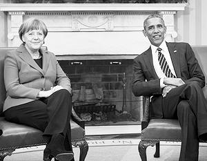 Меркель выступила против поставок оружия Украине, а Обама вновь высказался амбивалентно, за что подвергся критике «у себя дома»