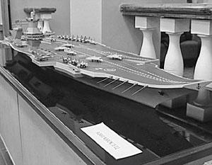Проект предусматривает размещение на борту авианосца до сотни летательных аппаратов