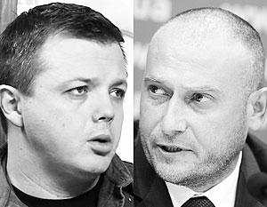 Командиру «Донбасса» Семенченко и «провiднику» «Правого сектора» Ярошу Порошенко не указ