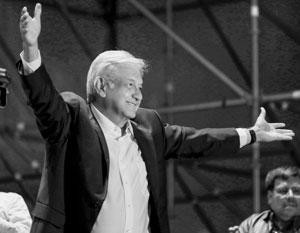 64-летний Андрес Лопес Обрадор обещает быть президентом всех мексиканцев