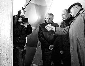 Александр Хорошавин (слева) не поверил в серьезность планов Путина