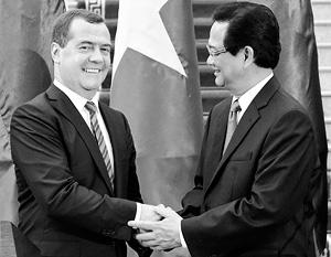 Приезд Дмитрия Медведева во Вьетнам сулит экономические выгоды России