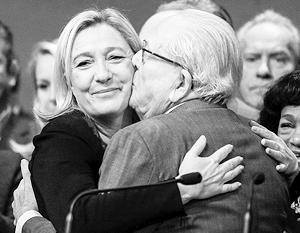 Скандал между Марин Ле Пен и ее отцом может привести к его исключению из партии и окончательному разрыву отношений