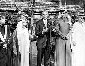 Барак Обама поддержит монархии Залива в их противостоянии с Ираном
