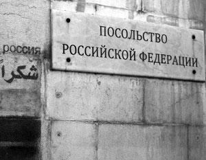 Российское посольство подверглось минометному обстрелу с позиций боевиков к северу от Дамаска