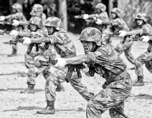 В армии КНР 2,5 млн человек, есть еще 800 тысяч стратегического резерва