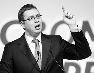 «Мы готовы диверсифицировать источники газа, что очень важно для наших американских друзей», – заявил Вучич