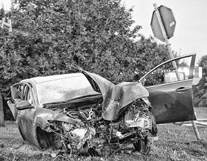 С начала года на дорогах России погибли 5,7 тыс. человек