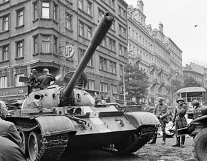 Ввод войск в Чехословакию был первой совместной операцией стран – участниц Варшавского договора