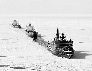Россия не оставляет план создать в Арктике мировую транспортную артерию