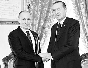 Владимир Путин встретится с Реджепом Эрдоганом в Баку