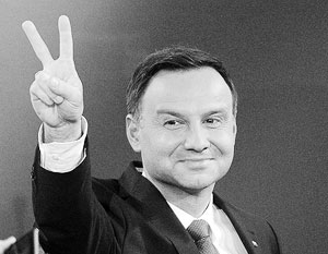 Антироссийская риторика портит имидж президента Польши