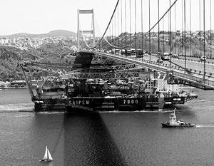 Итальянский корабль Saipem стал провозвестником грандиозной стройки, пересекающей все Черное море