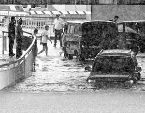 После Сочи ливни придут и в Московский регион, на выходных в столице ожидаются дожди с грозами и градом, предупреждают синоптики