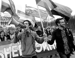 Вопрос о правах секс-меньшинств вновь стал бурно обсуждаться в России после решения США легализовать у себя однополые браки