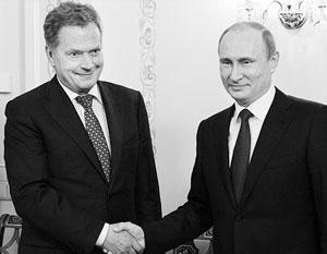 Президент Финляндии считает, что ЕС оставил страну один на один с разгневанной Россией