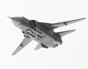 В результате крушения Су-24М погиб экипаж